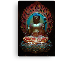 Buddha from Tooth Relic Temple Singapore. Canvas Print