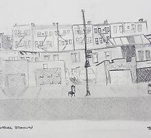 North 7th Street View by Benjamin Vess
