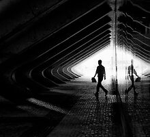 walk in the light by Paulo Nuno