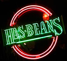 Has Beans by Elizabeth Hoskinson