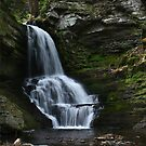 Lower Bridesmaid's Falls - Full View by Lori Deiter