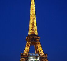 Eiffel Tower by mikebrice