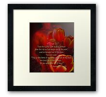Woman by God Framed Print