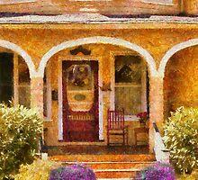 House - Visiting Grandma by Mike  Savad