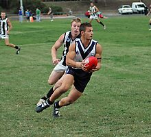 Aussie rules determination by Rob McCormack