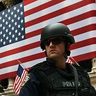 NYPD Wall St by Heath Morrison