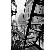 Bleecker winter Photographic Print