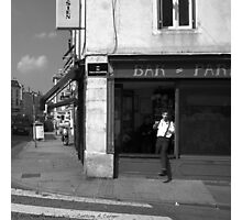 Cutting A Corner - Nancy, France Photographic Print