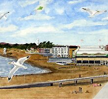 """On the Breeze"" - Esplanade, Burnham-on-Sea by Timothy Smith"