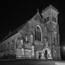 Liberty Church - Monochrome by AllshotsImaging