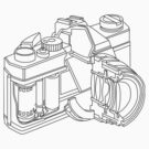Camera, cross section by columbus16