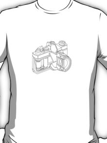 Camera, cross section T-Shirt