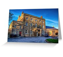 The Island hall - Alderney Greeting Card