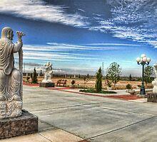 Mojave Desert Meditation Center by Herman Hodges