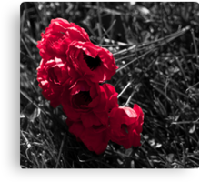 """""""...And in the morning, we will remember them."""" Canvas Print"""