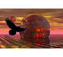 The mystical night of the raven Photographic Print