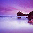 Kynance Cove, Cornwall at sunset by Hugster62