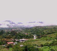 Vilcabamba, Ecuador Panorama by Al Bourassa