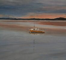 Early Morning - Anderson's Inlet, Inverloch by Sue de Vanny