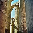 The Hypostyle Hall at Karnak - Luxor by Ommik