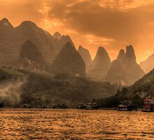 Beautiful Li River by Susan Dost
