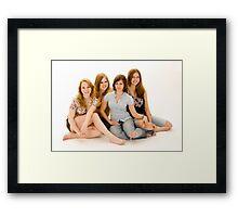 ROOMMATES Framed Print
