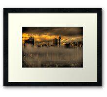 Australian Gothic - Sydney Australia - The HDR Experience Framed Print