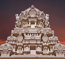 Lemont Hindu Temple by JCBimages