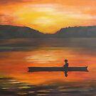 Boy in Boat by spuddy