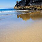 Deserted Housel Bay Beach, The Lizard Cornwall by Hugster62
