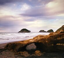 Back Beach, New Plymouth by Dean Mullin