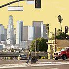 Boyle Ave near Mariachi Plaza by Bryan W. Cole