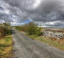 Rural Burren Road by John Quinn