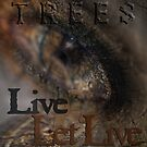 Live & Let Live © Trees by Vicki Ferrari