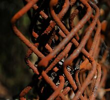 Rusted Diamonds  by Jeff Stroud