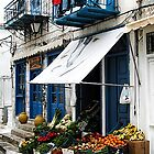 Village Produce Market - Island of Aegina,  Greece by T.J. Martin