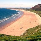 Rhosilli Beach, Gower by Jan Billings