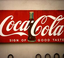 St. Augustine, Florida, Coca-Cola by Stephen D. Miller