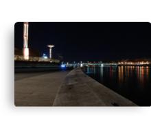 Lyon by night #9 Canvas Print