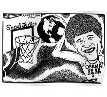 Slam Dunk Social Justice Poster