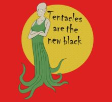 tentacles are the new black by IanByfordArt