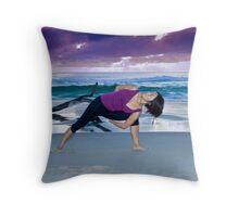 Beach Bind Throw Pillow