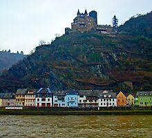 Along The Rhine III by Al Bourassa