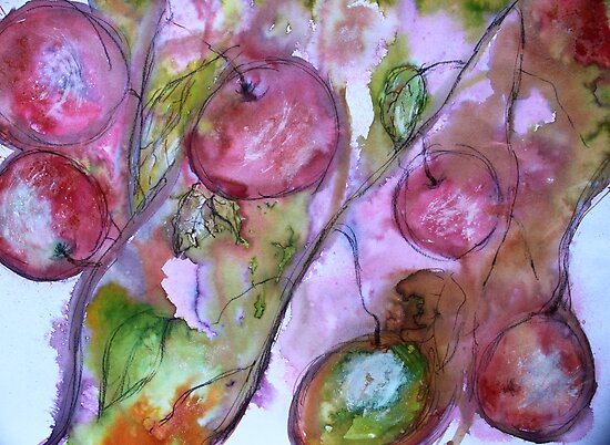 Spring fruits by Jenny Wood