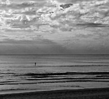 Cool Morning paddle by bradlentz-photo