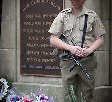 ANZAC Day Service - Gosford - 1 by Barnesy