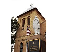 Least We Forget - Mesilla, NMex Photographic Print