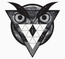 Triangle Owl by itsalive