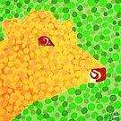 The Orange Cow by Alan Hogan