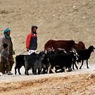 Shepherds (Afghanistan) by Antanas